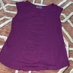 EUC Eddie Bauer XL purple sleeveless top